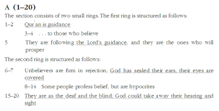 Baqarah ring A